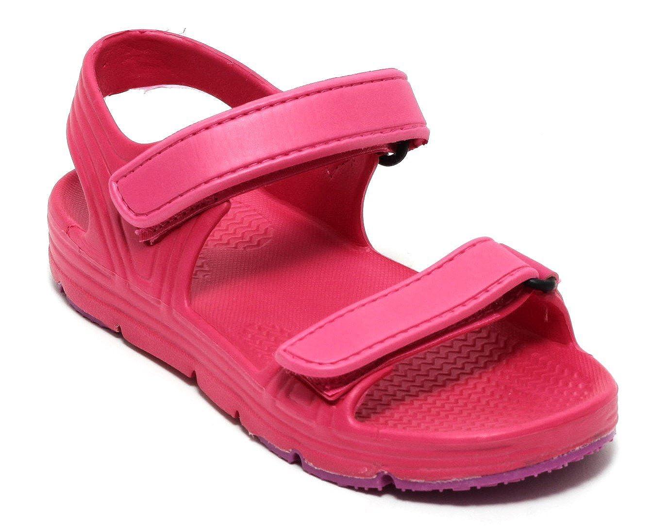 Mädchen Kinder Strand- und Badesandale Aquaschuhe Badeschuhe Wassersport Sandale PINK/BEERE