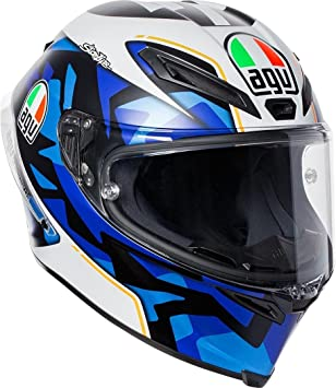 AGV Corsa R E2205 Replica PLK Espargaro 201 - Casco para moto, Medium-Small
