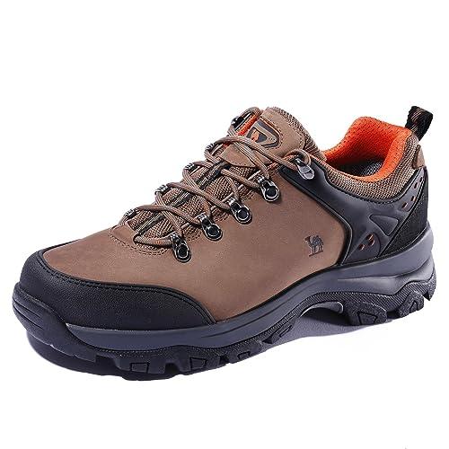 CAMEL CROWN Zapatillas de Camping y Acampada para Hombres Zapatos de Senderismo Montaña Calzado de Trekking Impermeable y Ligero: Amazon.es: Zapatos y ...