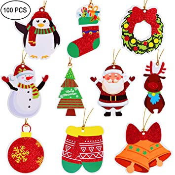 Merry Christmas Gift.Christmas Gift Tags Tie On With String 100 Count For Merry Christmas Holiday Gift Bags Party Supplies