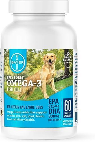 Bayer Free Form Snip Tips Omega-3 Supplement