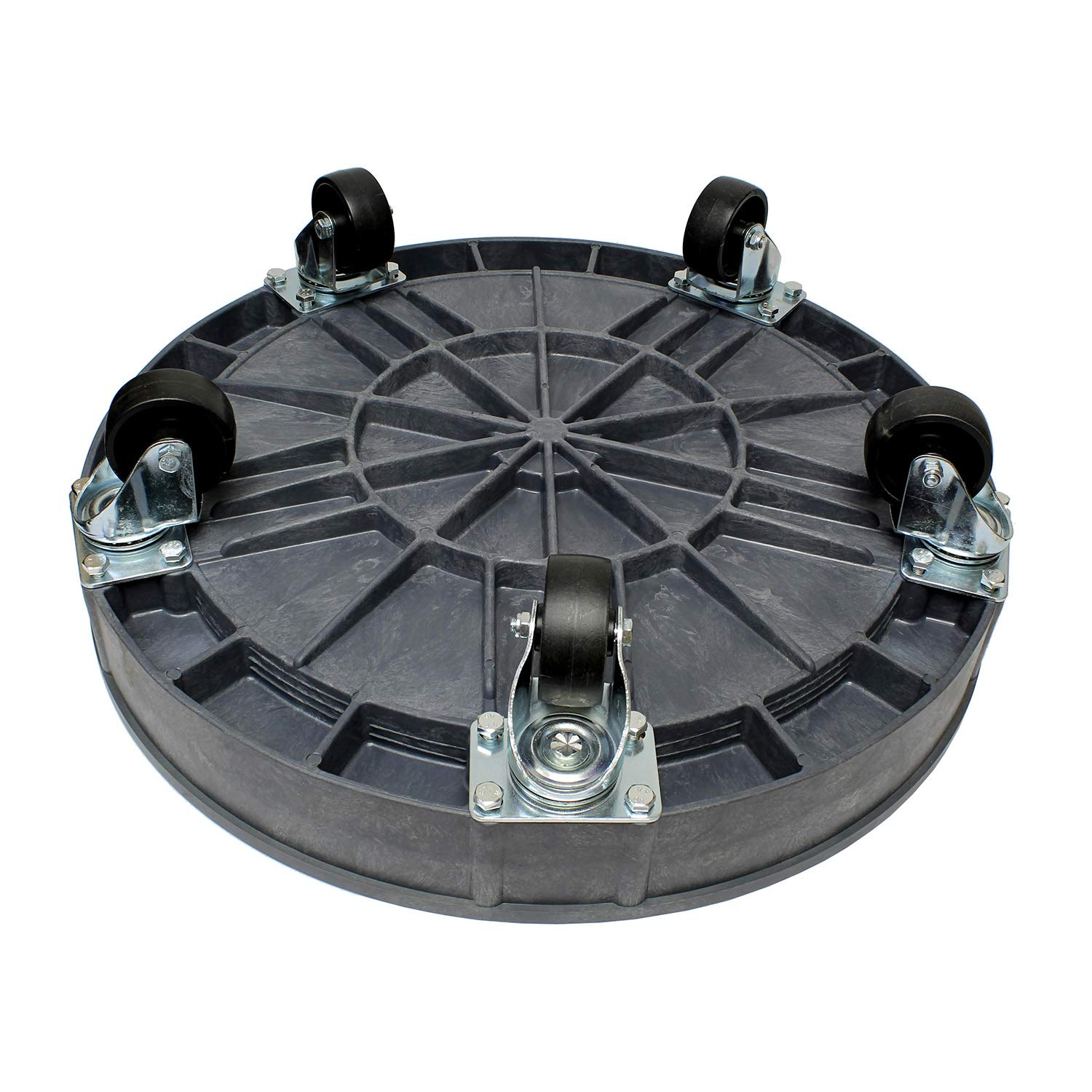 BISupply | Plastic 30 55 Gal Drum Dolly Barrel Cart Barrel Dolly for 55 Gallon Drum Dolly 55 Gallon 30 Gallon Drum Dolly by BISupply (Image #3)