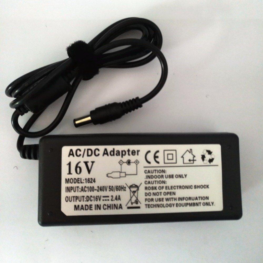 16 V AC DC adaptador para teclado Yamaha PSR de S650 S550 PA de 300 C PSR de 500 Tyros 4 Cargador 16 V2.4 A: Amazon.es: Iluminación