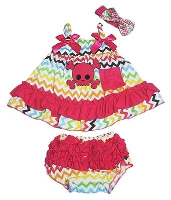 Petitebelle - Ensemble - Robe - Bébé (fille) 0 à 24 mois multicolore  Multicoloured f1cc8d9a063