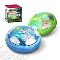 Deals on Set of 2 DEERC Kid Toys DE46 Hover Soccer Ball