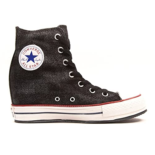 90360f587b98 Converse CT Plat Plus Hi Black (WS) (8.5 B(M) US)  Amazon.ca  Shoes ...