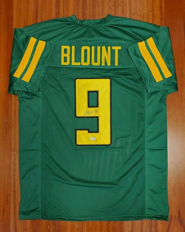 Legarrette Blount Signed Autographed Jersey New England Patriots ...
