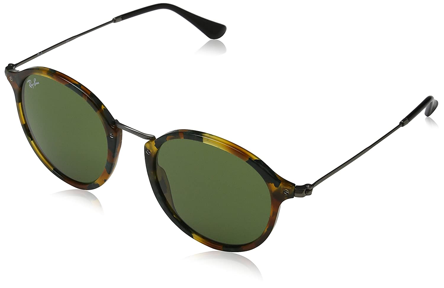 Ray-Ban メンズ B01ER711AE 52 mm|Spotted Green Havana Spotted Green Havana 52 mm