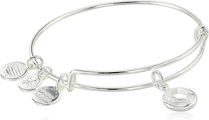 Details about  /Alex And Ani birthday Birthstone Bracelet Bangle JAN FEB APRIL AUG OCT NOV ETC