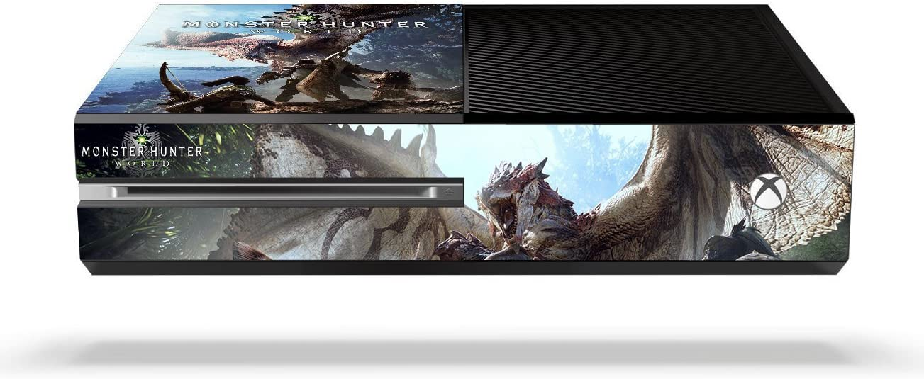 Amazon com: Monster Hunter World MHW Game Skin for Xbox One