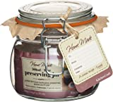 Kitchen Craft Home Made Deluxe 500ml Glass Preserving Jar