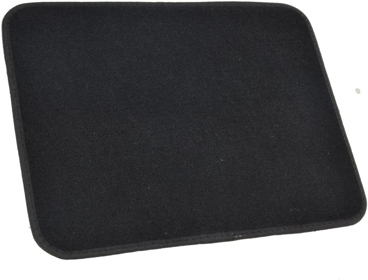 Original Batman Carpet Floor Mat for Car /& SUV 4 Piece Black w//Yellow Logo