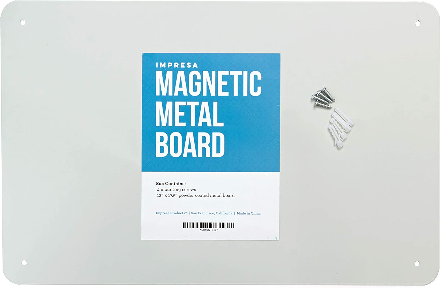17 5 X 12 Magnetic Board Made In The Usa Great Magnetic Bulletin Board Amazon Ca Office Products