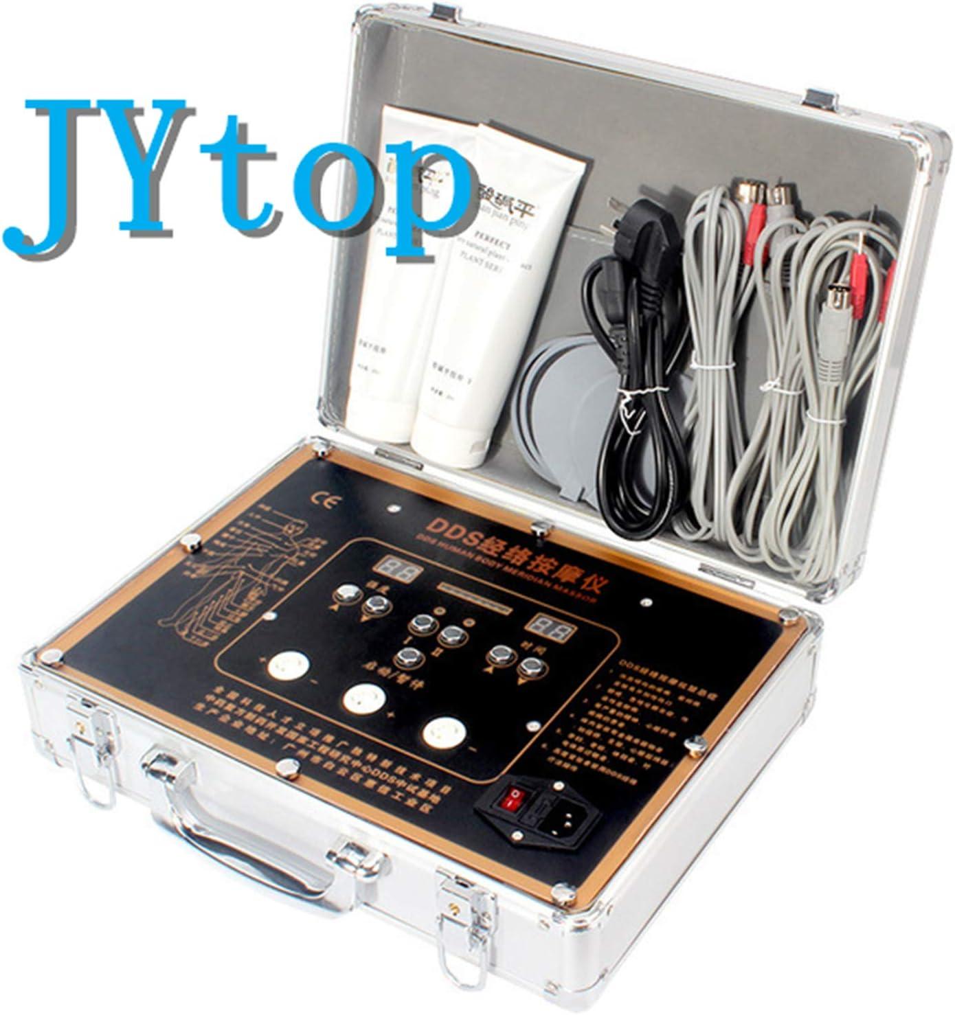 JYtop 2019新しいDDS酸とアルカリフラット生体電気治療器械多機能理学療法器械家庭理学療法器器電気治療器