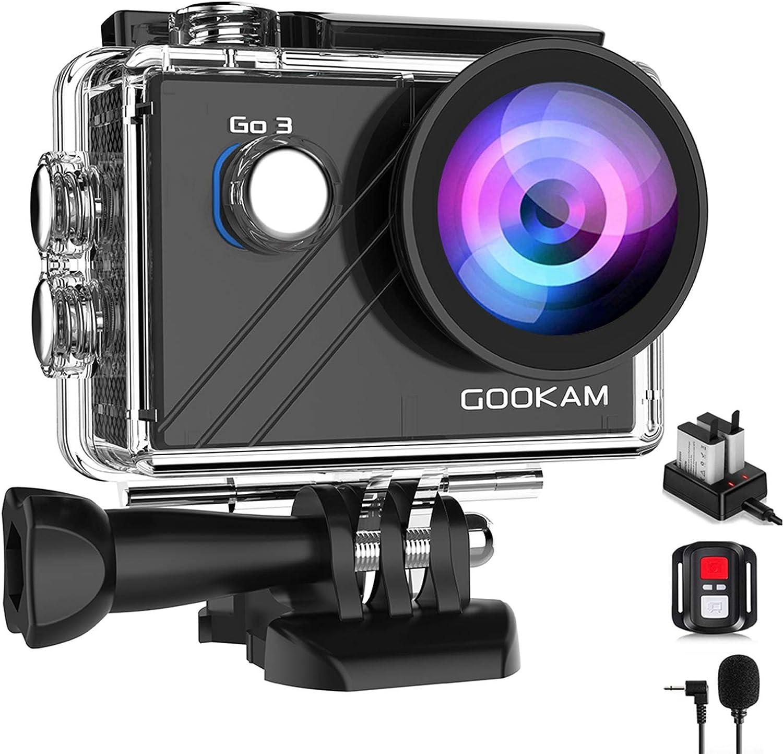 Gookam Go 3 Action Cam 4k Wifi Actionkamera 20mp Kamera
