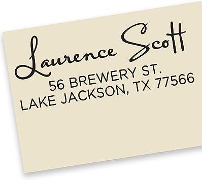 Address Stamp Return Address Stamp Custom Address Stamp Wedding Return Address Stamp Personalized Return Address Stamp Rubber Stamp No.56