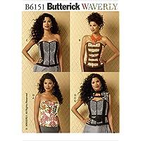 Butterick Patterns 6151 A5-6 tamaños 8-10 12