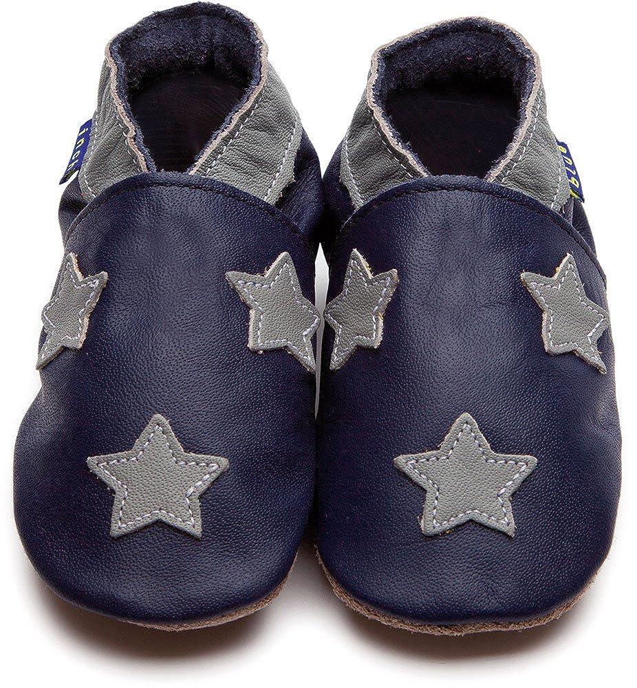 Inch Blue Krabbelschuhe Stardom Navy/Grey, Extra Large