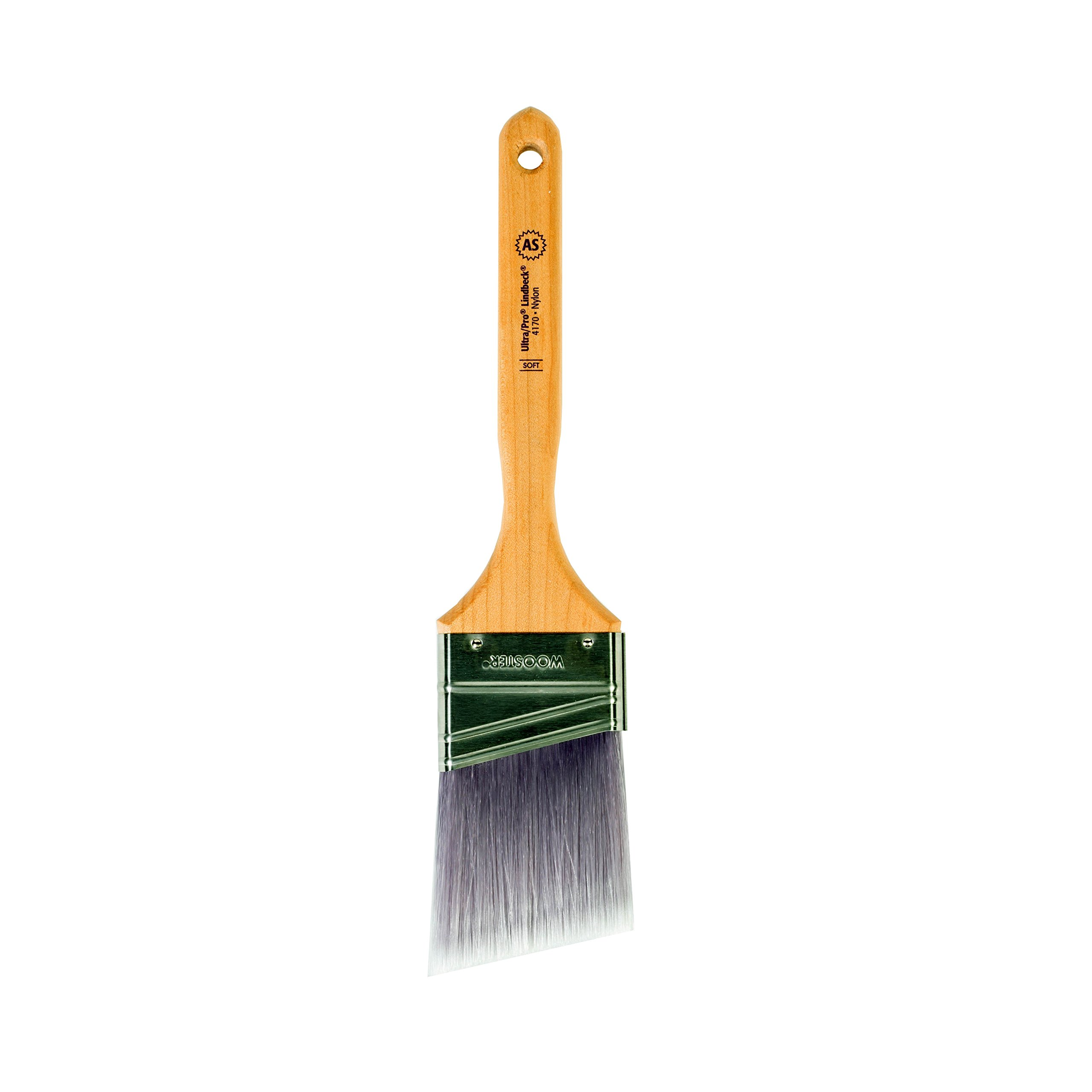 Wooster Brush 4170-2-1/2 Ultra/Pro Soft Lindbeck Angle Sash Paintbrush, 2-1/2-Inch