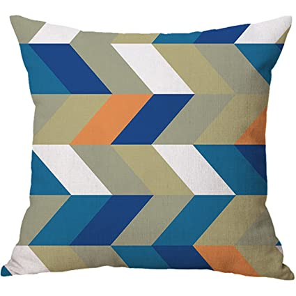 8b02f63619c Amazon.com  XueXian(TM) Home Bed Decor Triangle Graphic Throw Pillow ...