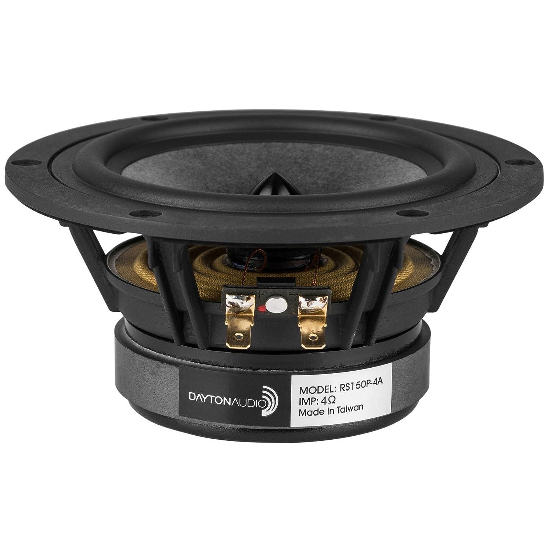 【国内正規品】Dayton Audio RS150P-4A REFERENCEシリーズ 15cm ペーパーコーン ウーファー 4Ω 15cm  B071LM611S