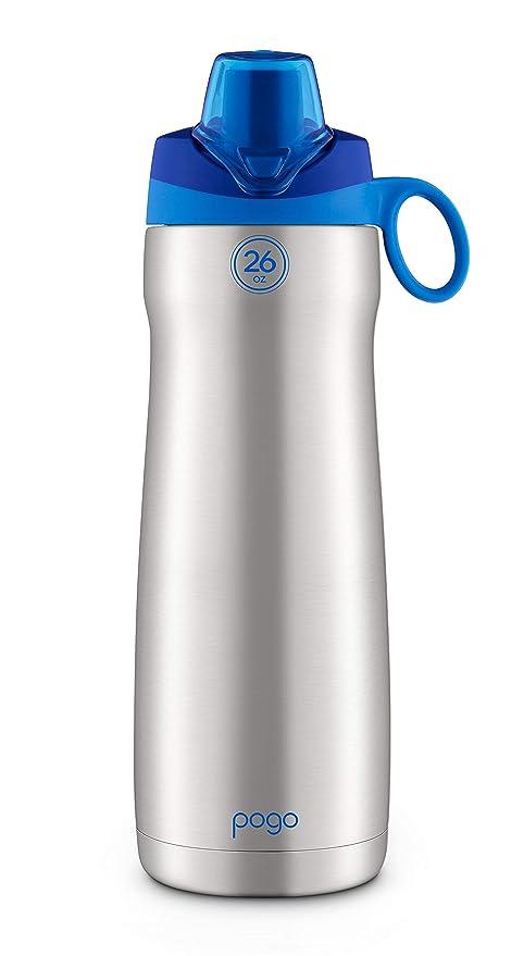 Amazon.com: Pogo - Botella de agua al vacío de acero ...