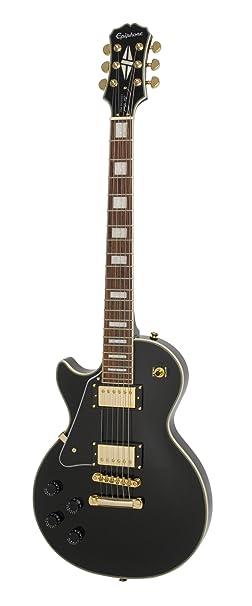 Epiphone Les Paul Custom PRO - Guitarra eléctrica, color alpine white: Amazon.es: Instrumentos musicales