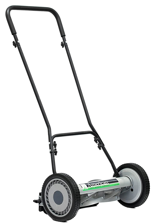 American Lawn Mower Company 1815-18 815-18 Reel Lawn Mower, 18-Inch, 5-Blade Black