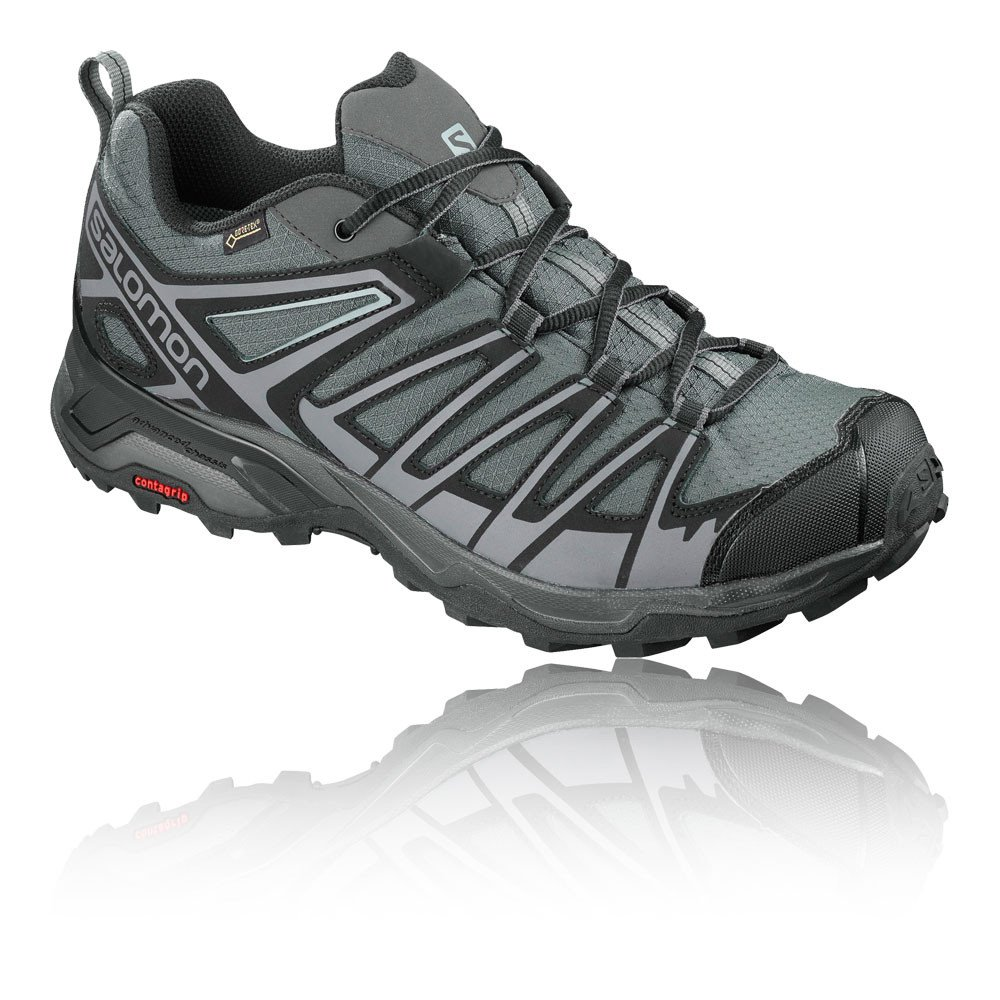 Salomon X Ultra 3 Prime GTX, Zapatillas de Senderismo para Hombre 41 1/3 EU|Multicolor (Magnet/Black/Quiet Shade 000)