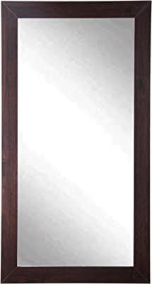 "BrandtWorks Wall Mirror, 32"" x 71"", Walnut"