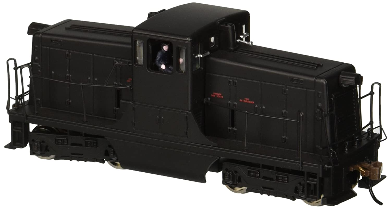 Bachmann GE 44-Ton Switcher Painted, Unlettered (Black) Locomotive HO Scale, DCC On-Board Bachmann Industries Inc. 62202