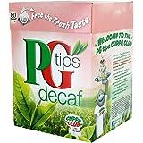PG Tips Decaf Tea: (80 cups of tea (6 Pack)