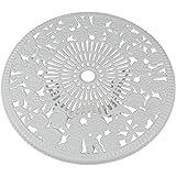 Sunnydaze 3-Piece Flower Designed Bistro Table