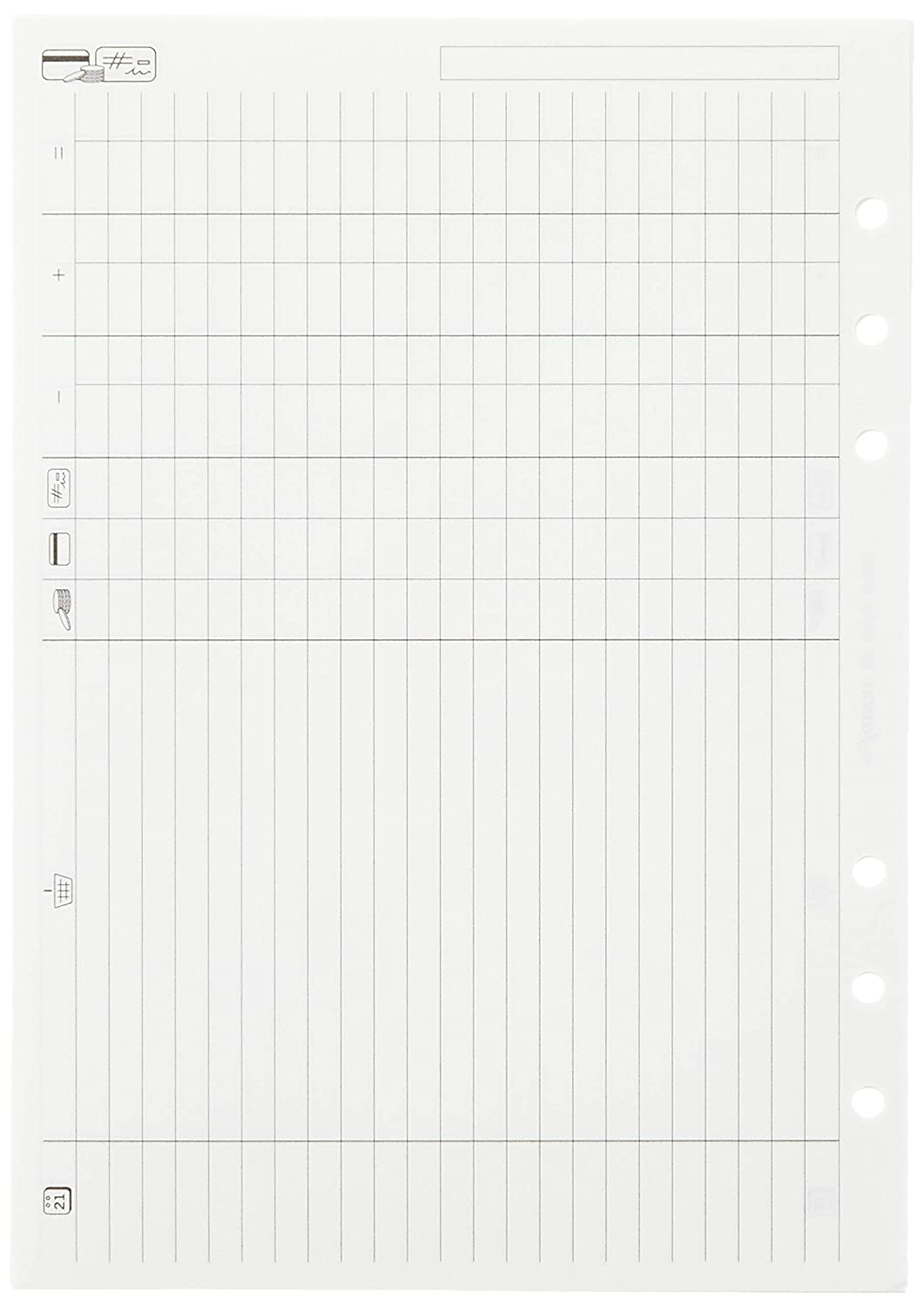 Filofax Perforateur portable format A5