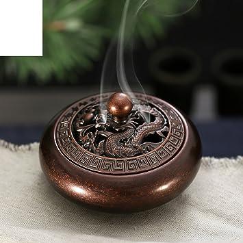 DW HCKK Mini Cobre Fino Quemador De Incienso Antiguo Estufa del Aroma-A: Amazon.es: Hogar