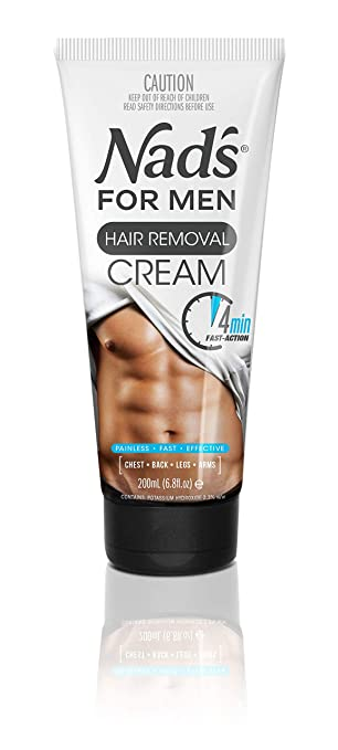 Nad's for Men Hair Removal Cream, 6.8 oz. best depilatory cream