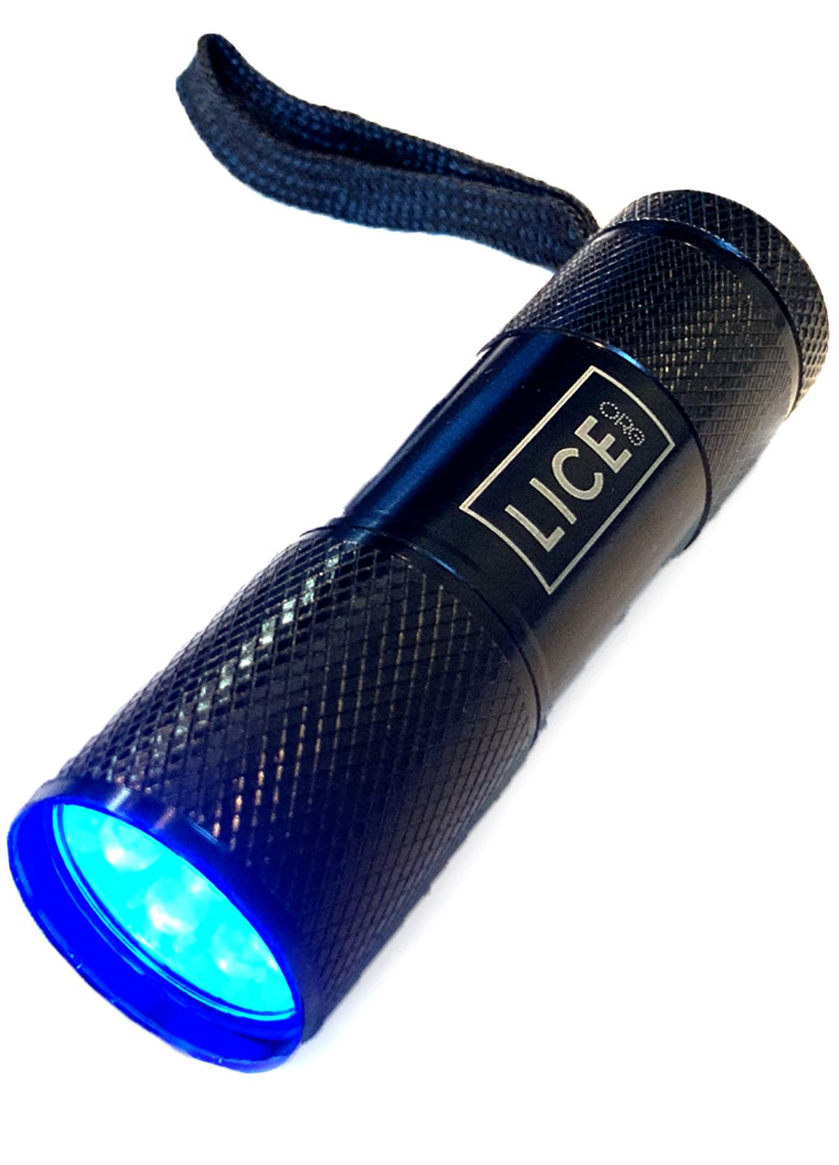 Official LICE.ORG Lice Light - Blacklight/UV Flashlight to Detect Head Lice, Bed Bugs Or Pet Urine (2) by LICE.ORG