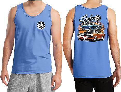 47ba12b2f44cca Amazon.com  Buy Cool Shirts Dodge Blue and Orange Super Bee (Front ...