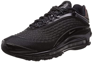 new concept 86ee0 b54c9 Nike Air Max Deluxe Mens Av2589-001 Size 4 Black Dark Grey