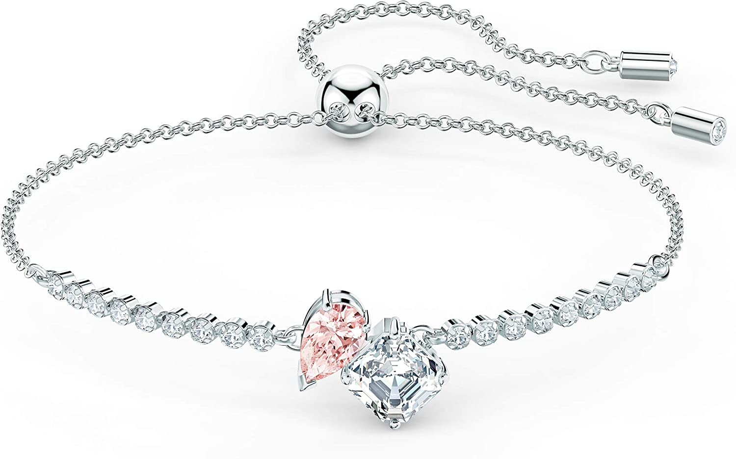 Jewels Obsession Saying Necklace Rhodium-plated 925 Silver Think Thin Saying Pendant with 18 Necklace