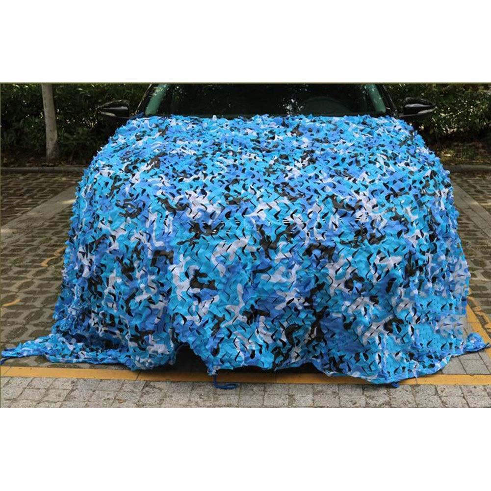 CJC Voiles d'ombrage Sunblock Net Filet De Camouflage Les Stores pour Parasol Camping Les Parcs, Maison, Patio Décoration Polyvalent (Couleur   bleu, Taille   30x10m) bleu 30x10m