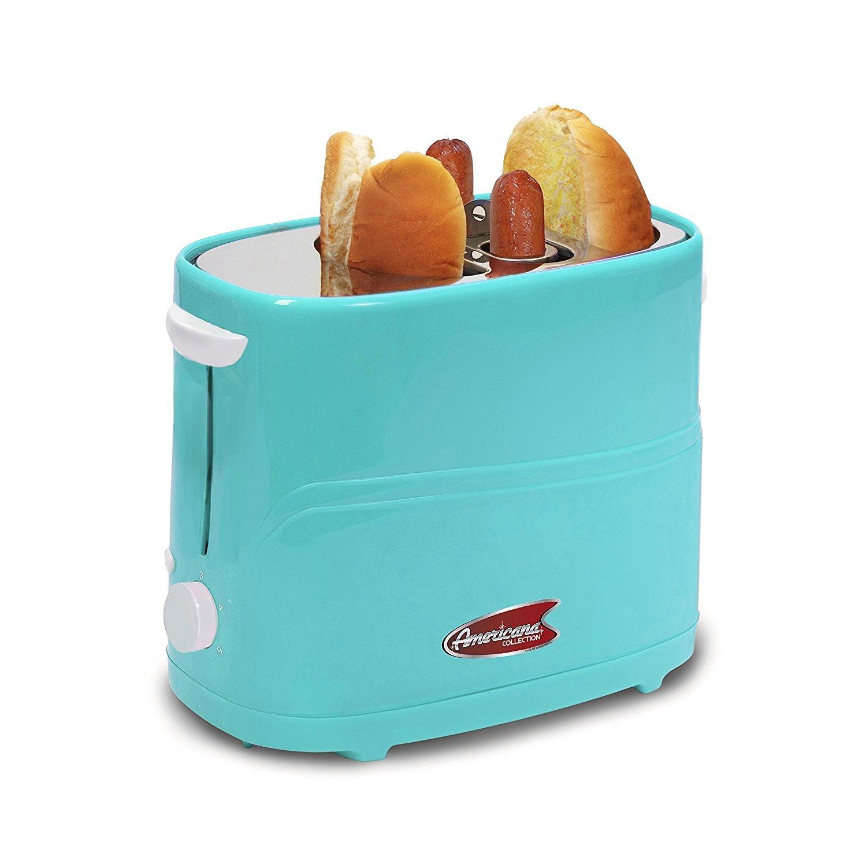 Amazon.com: Elite Cuisine ECT-304BL Maxi-Matic Hot Dog Toaster ...