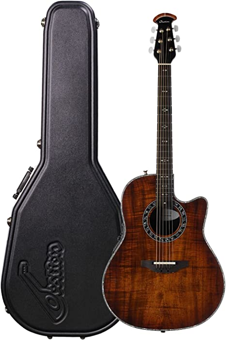 Ovation Legend Plus Koa Burst C2079AXP-KOAB - Guitarra acústica eléctrica (con cutaway profundo): Amazon.es: Instrumentos musicales