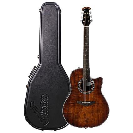 Ovation S de guitarra acústica Legend Plus Deep Contour Cutaway KOA Burst c2079axp de koab
