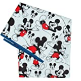Bumkins Disney Mickey Mouse Splat Mat, Waterproof, Washable for Floor or Table, Under Highchairs, Art, Crafts, Playtime…