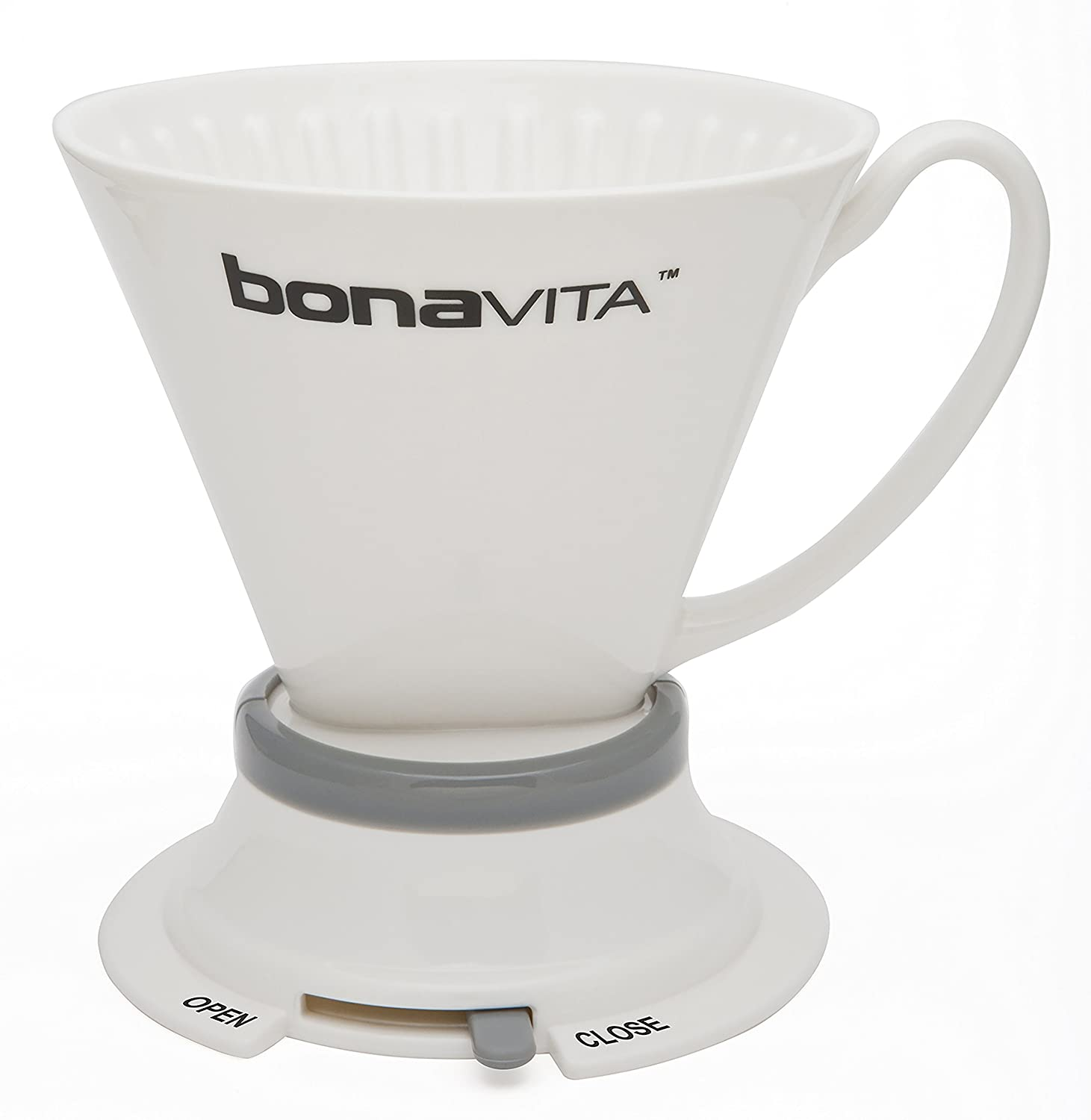 Bonavita Wide Base Porcelain Immersion Dripper Espresso Supply Inc BV4000IDV2