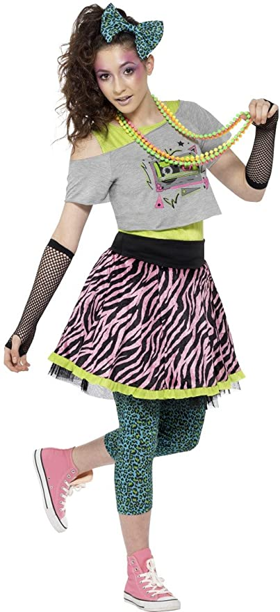 80s Costumes, Outfit Ideas- Girls and Guys Smiffys 80s Wild Child Costume £13.99 AT vintagedancer.com