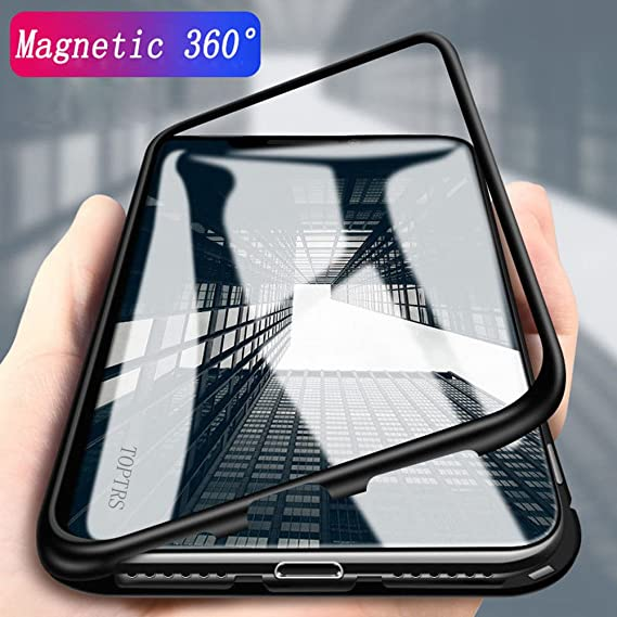 Amazon.com: Magnetic Adsorption Cases for Huawei P20 Pro, TOPTRS ...