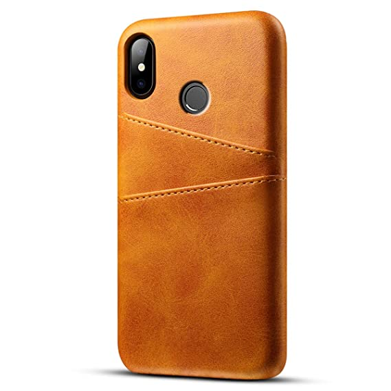 Xiaomi Mi A2 Lite Holster Case, Codream Cover Suit Premium Vertical Leather  Pouch Sleeve Carrying Case Appears with Card Slot for Xiaomi Mi A2 Lite