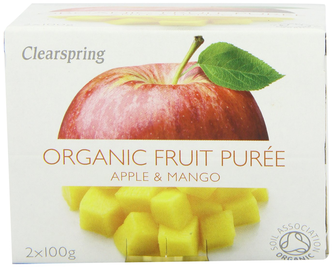Clearspring Organic Apple and Mango Fruit Puree 2 X 100 g (Pack of 12) by Clearspring (Image #4)